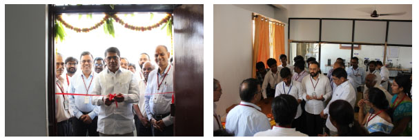 3d printing lab inaugration by gautham rao vbit