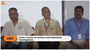 GUEST LECTURE ON SURFACE AND SUBSURFACE INVESTIGATIONS