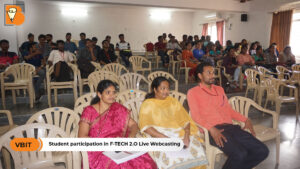STUDENT PARTICIPATION IN F-TECH 2.0 LIVE WEBCASTING