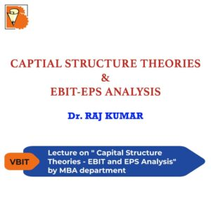 Capital Structure Theories - EBIT and EPS Analysis