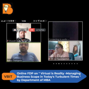 Virtual is Reality – Management Business Scape in Today's Turbulent Times